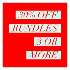 Accessories - 30% OFF BUNDLES {3 OR MORE}